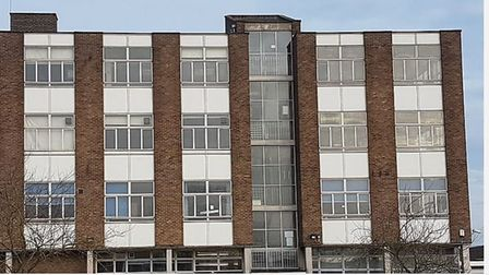 The class of '78 from the City of Ely College will abseil down their old school building - the soon