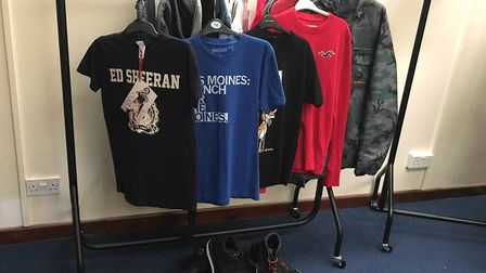 Ed Sheeran's clothes are to be auctioned off to raise money for East Anglian Children's Hospices EAC