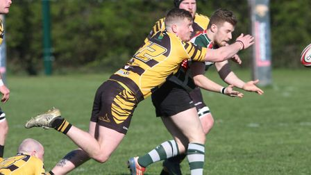 Sam Benzi marked his return to the Ely Tigers line-up with a try in their 47-12 victory over Basildo