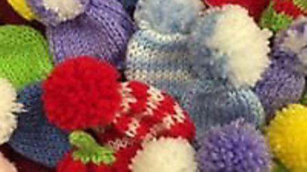 The Big Knit is coming to Fenland - mini woolly hats needed for a fund raising campaign for Age UK P