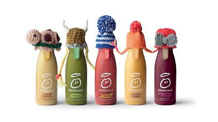 Innocent is teaming up with Age UK to raise money - mini woolly hats needed by local knitter PHOTO: