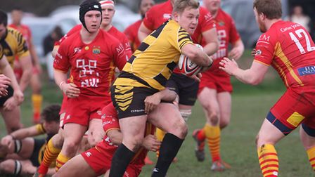 Nathan Brooks scored two tries, but it wasn't enough to stop Ely Tigers falling to a 26-12 defeat to