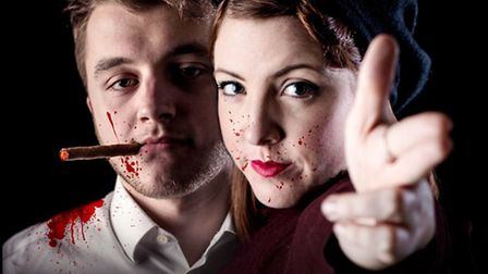 Wilburton Theatre Group will perform 'Bonnie and Clyde: A Musical' at St. Peter's Hall, Wilburton fr