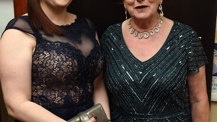 Councillors Kim and Jan French seen here at the Fenland Business Awards. Kim has been voted as mayo
