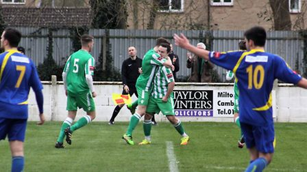 Sam Mulready's brace fired Soham Town Rangers to their first victory since December 3 last weekend.