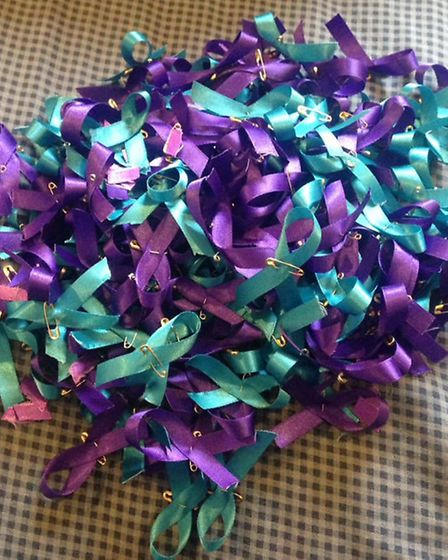 Hundreds of handmade ribbons have been sold in Joshua Warby's memory, with £730 donated to the Samar