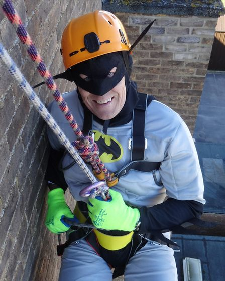 Class of '83 held an Abseil Event at Ely College on Saturday (March 25) to mark the year group's 50t