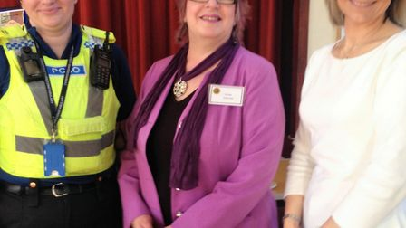 Littleport Village Hall was the venue for a village surgery at the weekend. Pcitured are from left: