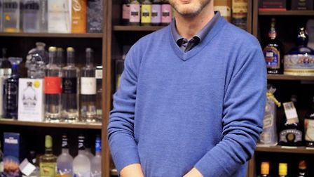 James Clark, owner and founder of the Ely Gin Company. The company celebrates its fifth anniversary