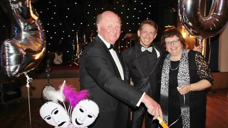 Viva Soham held a fundraising ball to celebrate its 20th anniversary at the weekend. PHOTO: Michael