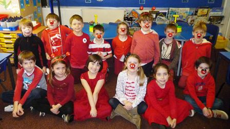Children and staff at King's Ely raise more than £1,000 for Comic Relief and the Disaster Emergencie
