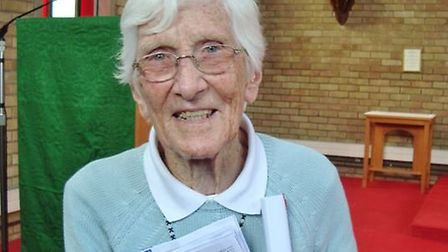 The Community of the Franciscan Missionaries of Mary announce the death of Sr Jo who spent the last