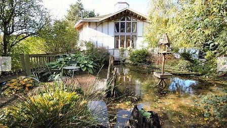 A four bedroom house built within six acres of grounds featured on Channel 4s Grand Designs is on