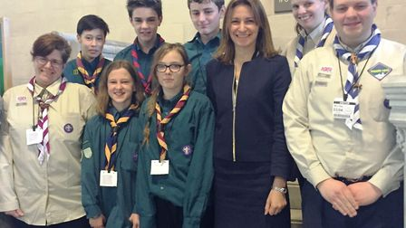 Ely and District Scouts visited SE Cambs MP Lucy Frazer in Westminster this week.