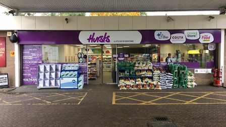 Flashback to October 2016 when the newly refurbished shop at Esso Services, Barton Mills, re-opened