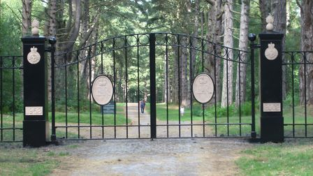 The Witham Group's paint has been used for the royal gates at the Sandringham Estate for the last 26