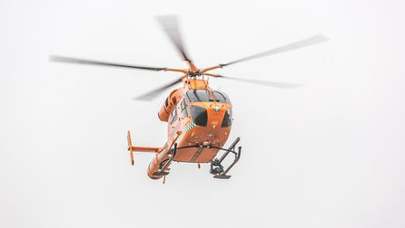 A woman in her 30s who sustained head injuries after falling from a height in March was airlifted to