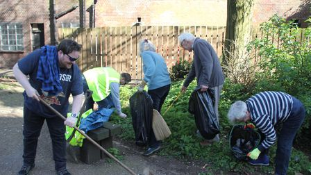 The Ely Spring Clean took place in the city on April 2. PHOTO: Mike Rouse