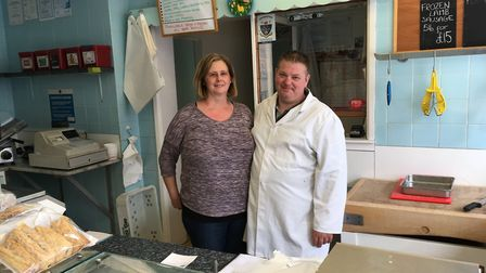 Denise and Kevin say the popularity of supermarkets has had a detrimental effect on trade. PHOTO: Se