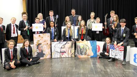 Soham Village College has been awarded an Artsmark Gold award from Arts Council England. PHOTO: Soha