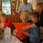 Josie Brown celebrates turning 100 with her family at The Moat House