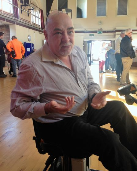 Phil Robinson who was determined to get his mobility problems addressed by those responsible for Lit