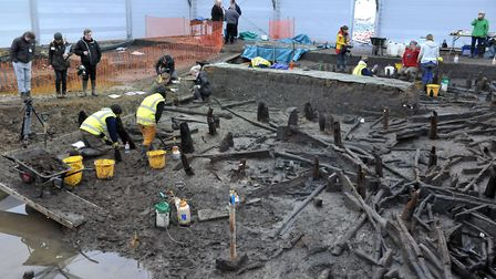 Archaeologists revealed 3,000 year old circular wooden houses believed to be the bestpreserved Bronz