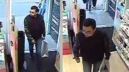Do you recognise the man in this CCTV? Police would like to speak to him in connection with a theft