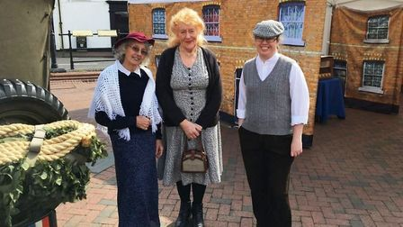 Visitors to Ely market took a step back in time as Viva Arts and Community Group's Street Life team