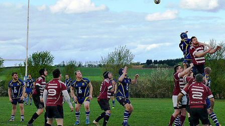 Action from March Bears' 55-5 win over St Ives 2nds. PHOTO: Gary Whelan