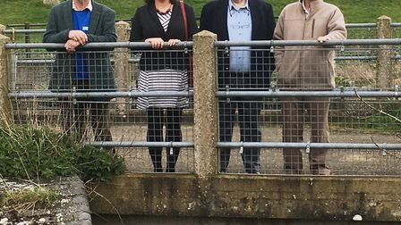 Ms Alex Mayer MEP for Cambridgeshire and Peterborough visited Welches Dam, near Manea, PE15 0NF, for