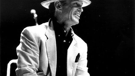 Sixties music icon Georgie Fame, famous for classics like 'Yeh Yeh', 'The Ballad of Bonnie & Clyde'