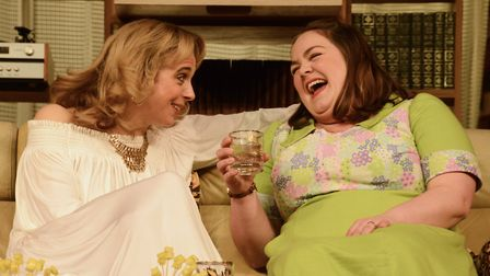Theatre Royal Bath March 2017 Dress RehearsalAbigail's Party by Mike Leigh Directed by Sarah Esdai