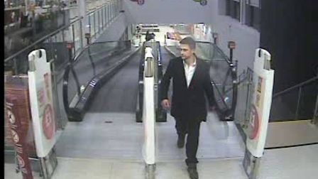 Police want to speak to man in connection with theft of £440 television from Sainsbury's, Lisle Lane