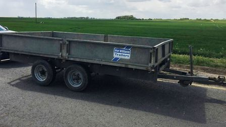 The Rural Crime Action Team RCAT and HMRC have stopped one vehicle on red diesel, one stolen trailer