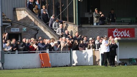 Soham's fans celebrate their remarkable comeback. PHOTO: Andy Burford