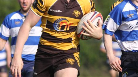 Matt McCarthy's hat-trick helped the Ely Tigers to a final day victory over Lowestoft & Yarmouth las
