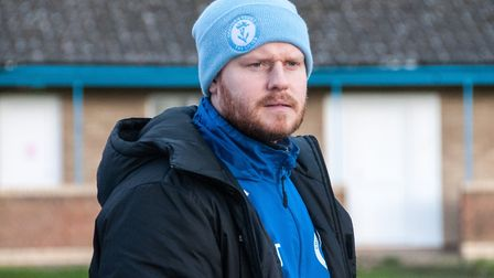 Ashley Taylor is to stand down as Chatteris Town manager at the end of the season. PHOTO: Steve Snel