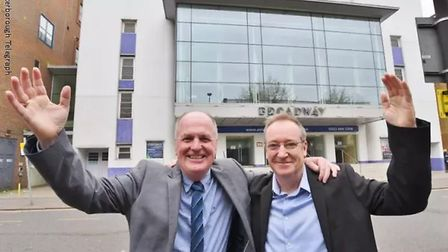 Independent Peterborough and Cambridgeshire Mayoral candidate Peter Dawe and his running mate have a