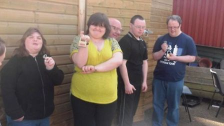 FACET students are devastated that burglars stole gardening equipment from thier March college PHOT