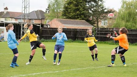 Adele Munday also went close in March's narrow victory. PHOTO: Jon Sharpe