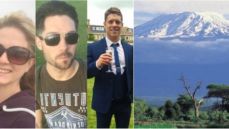 Charley Allen, Christian Howes and Tim Megginson are to climb Mount Kilimanjaro in June for three di