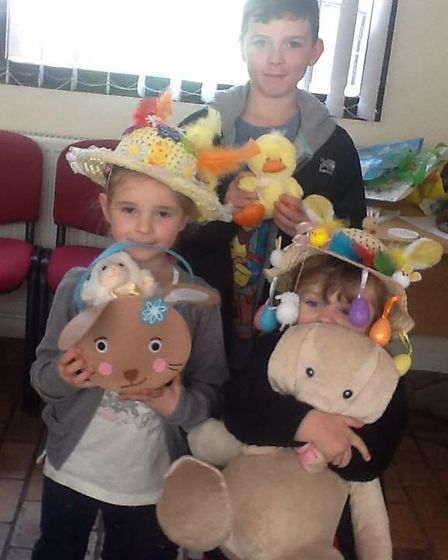 Chatteris in Bloom's Easter Egg-stravaganza raised £100.