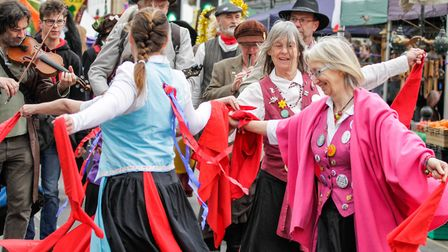 St George's Fayre 2017. It was a brilliant occasion celebrating its 10th anniversary March St Georg