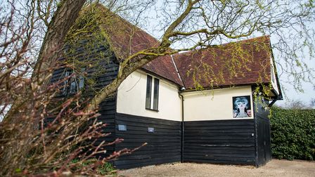 Sampson's Barn in Great Dunmow, which is hosting art classes for the first time