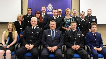 Recognsied for their achievements - all the people who went above and beyond the call of duty who w