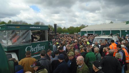 More than 4,000 vintage vehicle enthusiasts from around the world helped make Cheffins' latest aucti