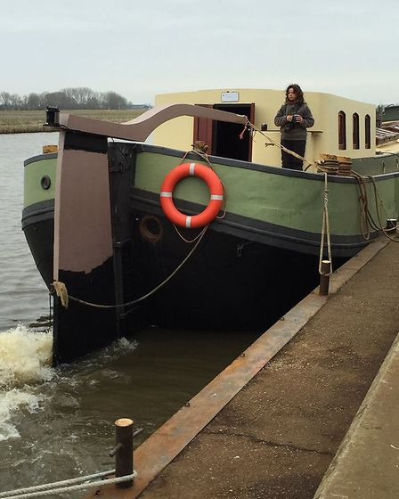 Stuart Fowler and Donna Spence have converted this ordinary barge into an extraordinary hotel - and
