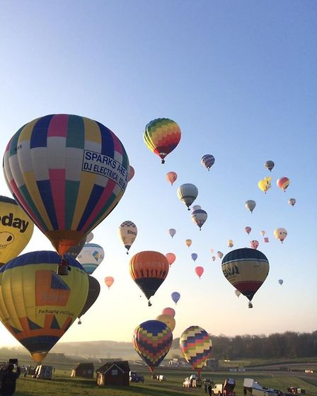 A hot air balloon pilot from Ely is one of 85 world record holders having crossed the English Channe