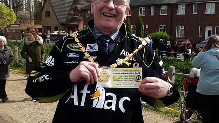 No feathers ruffled at Mayor of Whittlesey's annual charity duck race